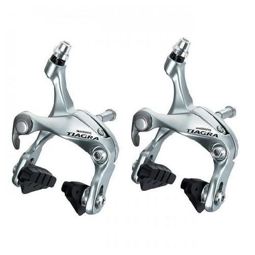 54cb54389e9 Shimano Tiagra BR 4600/4700 Road Bike Brake Caliper Set Pair SILVER COLOR  Front&Rear-in Bicycle Brake from Sports & Entertainment on Aliexpress.com  ...