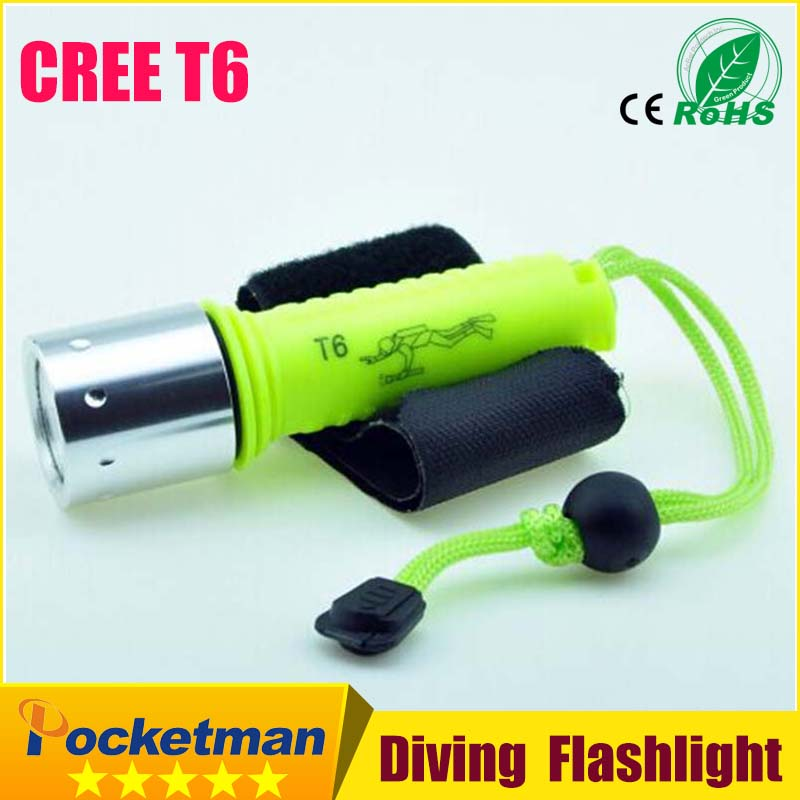 2100LM CREE T6 LED Waterproof underwater scuba Dive Diving Flashlight Dive Torch light lamp for diving free shipping hot cree t6 lamp diving flashlight 2000 lm underwater hunting torch cycling climbing camping light free shipping
