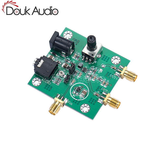 US $22 4 20% OFF|MAX2606 VCO RF Transmitter Module Audio IN Differential /  Single ended OUT Board-in Circuits from Consumer Electronics on