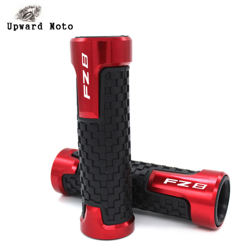 "For YAMAHA FZ8 FZ8N FZ 8 Motorcycle Accessories 7/8"" 22mm Handlebar Grips Handle Grip Protector Handle bar|Grips|   - AliExpress"