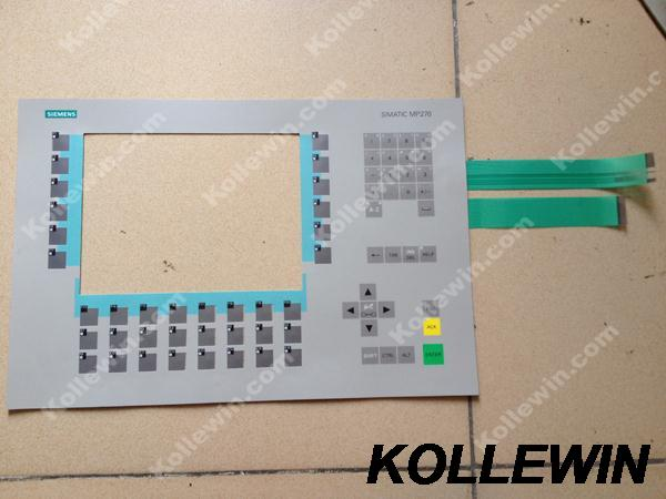 New MP270-10 membrane keypad for MP270 10 6AV6542-0AC15-2AX0 6AV65420AC152AX0 6AV6 542-0AC15-2AX0 touch panel mask freeship new membrane keypad operation panel button mask for mp270 10 6av6542 0ad15 2ax0