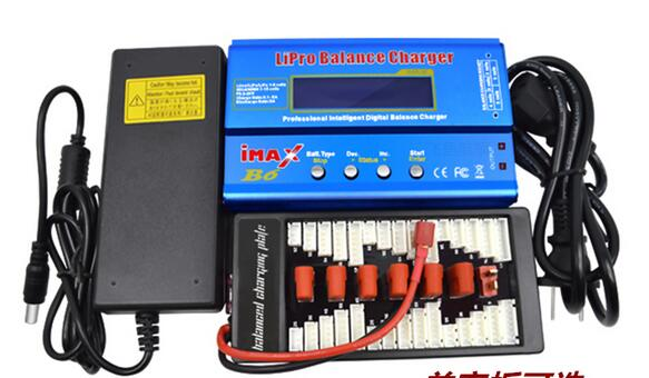 iMAX B6 Li-ion Polymer Digital Balance Charger & Adapter & Charge Plate For 2S-6S 7.4v -22.2v Battery Big Sale ocday 1set imax b6 lipo nimh li ion ni cd rc battery balance digital charger discharger new sale