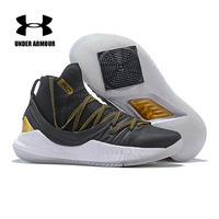 Under Armour Men Curry 5 Basketball Shoes Wearable New Sport Basketball Sock Sneakers Male Athletic Cushioning Breathable Shoes