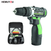 16.8V Adjust speed Home Cordless Power Tools Electric Screwdriver Multi Function Lithium Ion Rechargeable Electric Drill