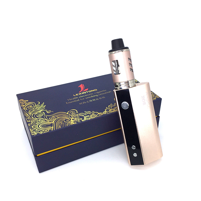 Original 60W Vaper Smoking Box Mod Kit <font><b>Vape</b></font> 2600mah <font><b>Smoker</b></font> Vaping E Cig Shisha Pen Big Smoke Vaporizer Mech Electronic Cigarette image