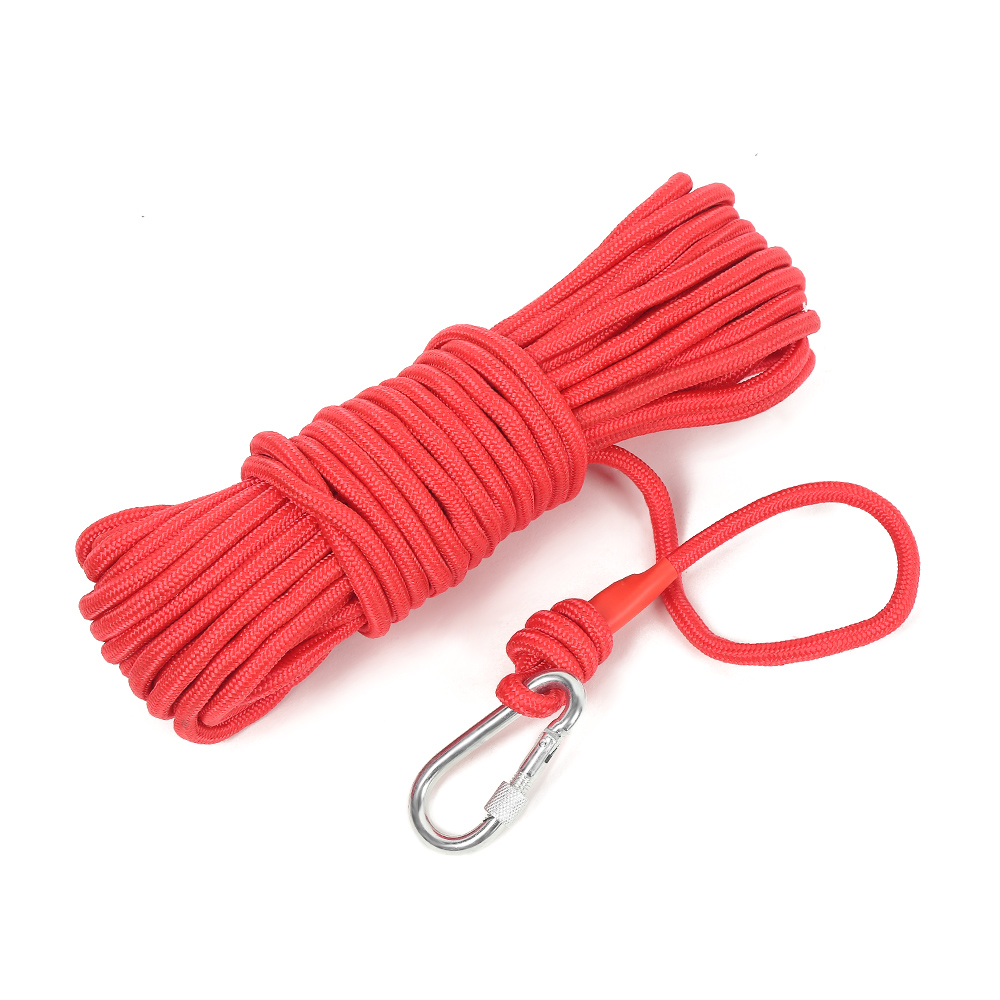 260Kg To 360KG Strong Neodymium Ring Fishing Magnet Magnetic Material Deep Sea Salvage Recovery Searching Magnets With Rope