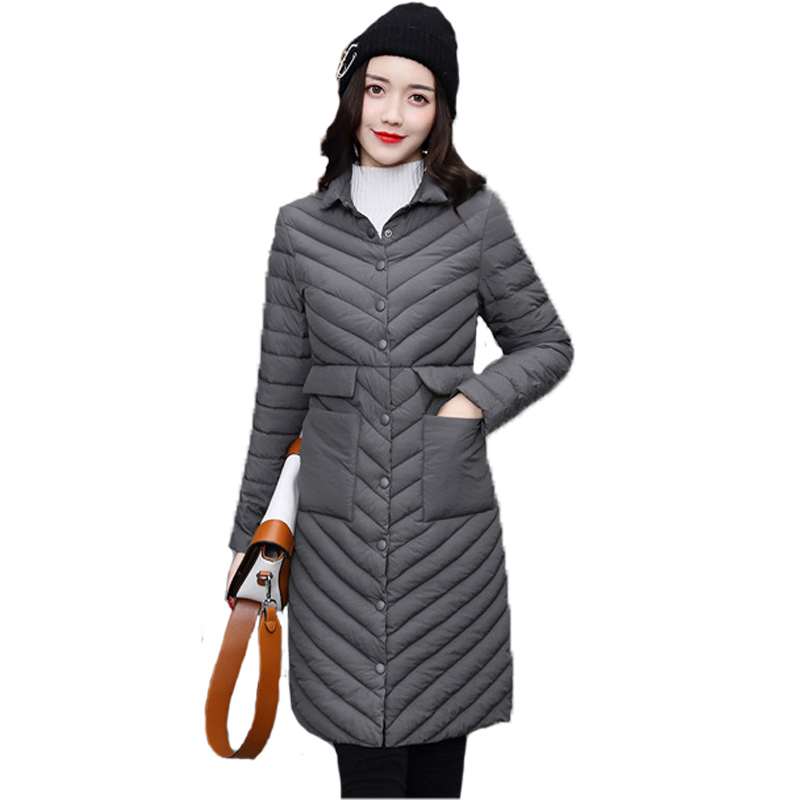 2017 New Winter Coat Women Fashion  Cotton Jackets Warm and Slim Cotton Clothes Female Long Sleeve Overcoat High Quality Parkas lucky panda 2016 the new winter coat and female slim in the long and small lattice fragrant cotton lkp243