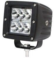 2pcs 3 Inch 18w Led Work Light 12V Spot Off Road LED Work Light For ATV