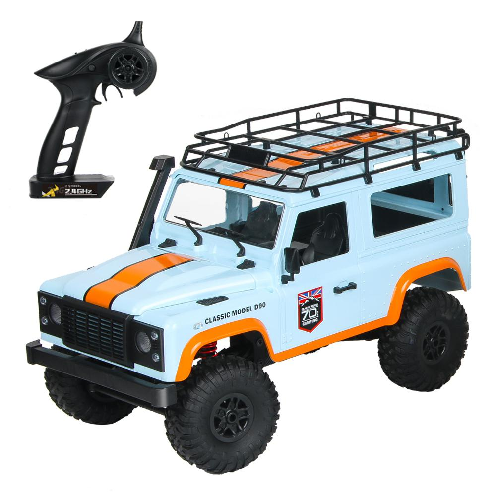 RCtown MN-99 2.4G 1/12 4WD RTR Crawler RC Car For Land Rover 70 Anniversary Edition Vehicle Model