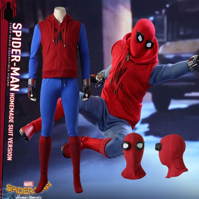 Red Shoes Spider Man Homecoming Suit