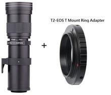 Lightdow 420-800 мм F/8.3-16 + T2 Adaper — Canon EF EF-S