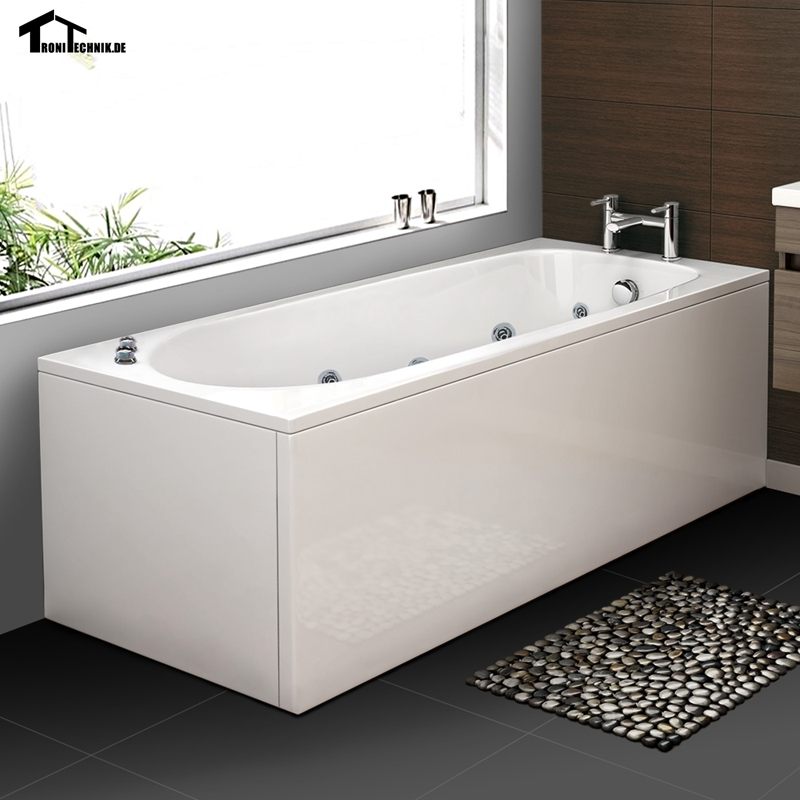 1700 X 700 mm Whirlpool Bath tub Shower spa freestanding Massage ...