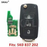 Car Remote Key For 5K0837202 5FA010180 00 For Beetle Caddy Eos Golf Jetta Polo Scirocco Tiguan