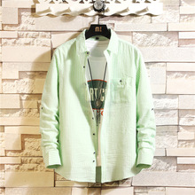 Business Men s Shirts Men Shirt Long Sleeve Camisa Social Masculina Cotton Male Clothing