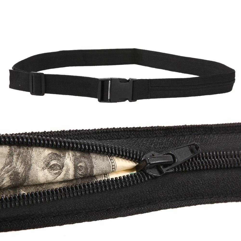 Unisex Waist Bag Fanny Pack Multifunctional Bag Waist Pack Anti-theft Travel Money Belt Waist Bag Money Pouch Women Pocket