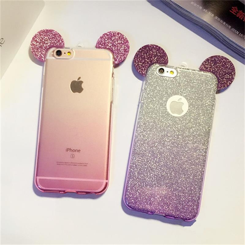 Mickey Mouse Iphone  Case With Ears