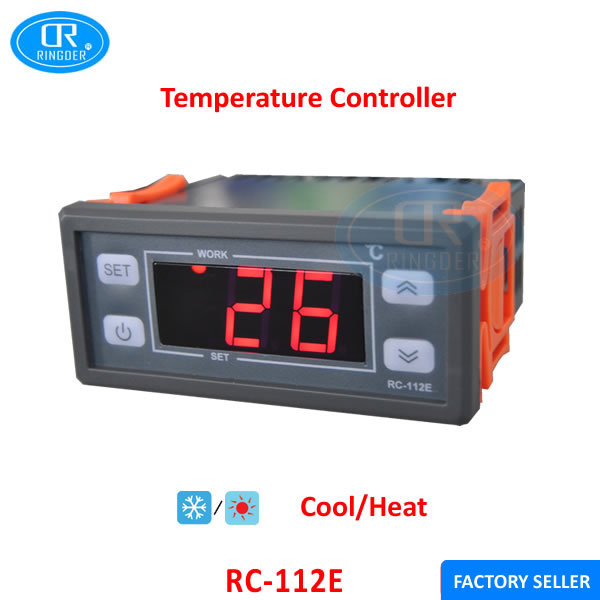 RINGDER RC 112E 230V30A Cool Heat ON/OFF Relay Switch
