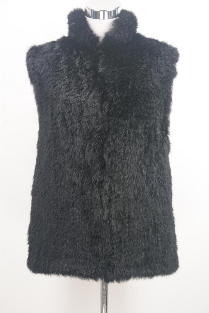 Gris Sans Tricoté 60 Cardigan Crochet De Col 6xl Up Grande Foncé Taille Lapin Fourrure Court Veste Gilets Manches Gilet Noir Stand WYeDHIE29