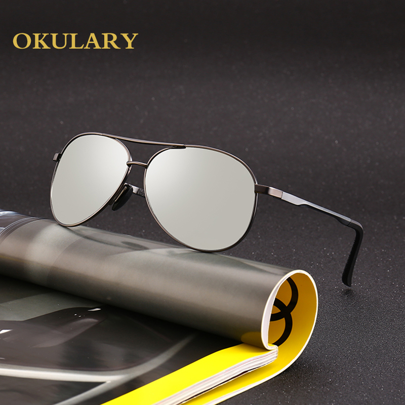 2018 New Aluminum Frame Drive Polarized Sunglasses UV400 Men Pilot Sunglasses With Box,Case