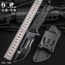 HX Outdoors D2 steel tactical straight hunting knife fixed camping survival EDC Multi tools Csgo saber karambit diving Knives