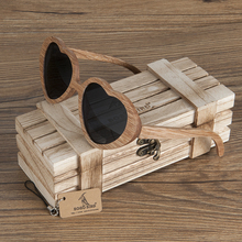 BOBO BIRD AG02425 Handmade Ebony Wood Sunglasses Women Men Brand Design Vintage 2017 Fashion Glasses Polarized Lens Accept OEM