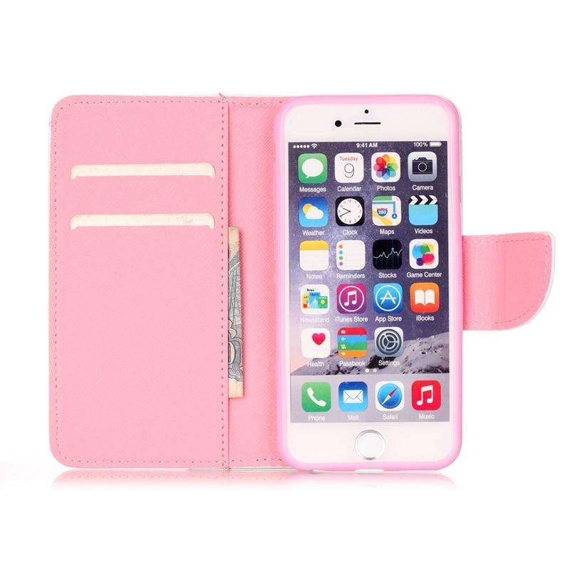 Fundas för iphone 6 täcka Fashion Design Flip läder plånbok för - Reservdelar och tillbehör för mobiltelefoner - Foto 4