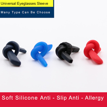 COLOUR_MAX 1Pair Spare Part Replacement Silicone Rubber Eyewear Sleeves