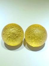 38mm Libyan gold meteorite single bead 1PC