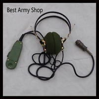 Surplus Original Surplus Chinese Military Army Earphone With Mike