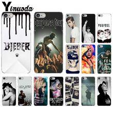 Yinuoda Justin Bieber Purpose Super Star TPU Soft Silicone Phone Case Cover for iPhone 5 5Sx 6 7 7plus 8 8Plus X XS MAX XR
