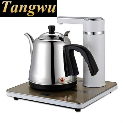 Automatic pumping electric kettle water heater tea free shipping automatic water supply electric kettle tea set pumping furnace