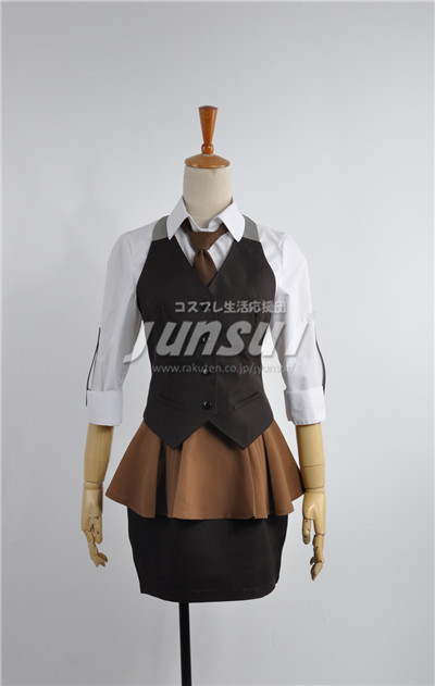 Tokyo Ghoul Touka kIRISHIMA Work Clothes Uniform Hallowmas Cosplay Anime Costume Any Siz ...