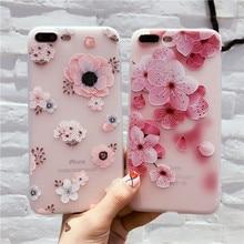 Floral Phone Case iPhone 6 6s 7 8 Plus X