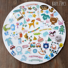 73pcs BABY series Stickers Scrapbooking Happy Planner/Card Making/Journaling Project