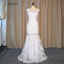 EBDOING 1 Mermaid Wedding Dress Dress With