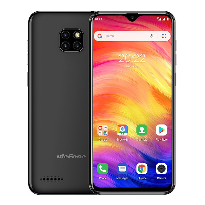 Ulefone Note 7 Smartphone 6.1 inch Android 8.1 phones Waterdrop Screen Quad Core Mobile phone 3500mAh WCDMA Unlock Cell phone Pakistan