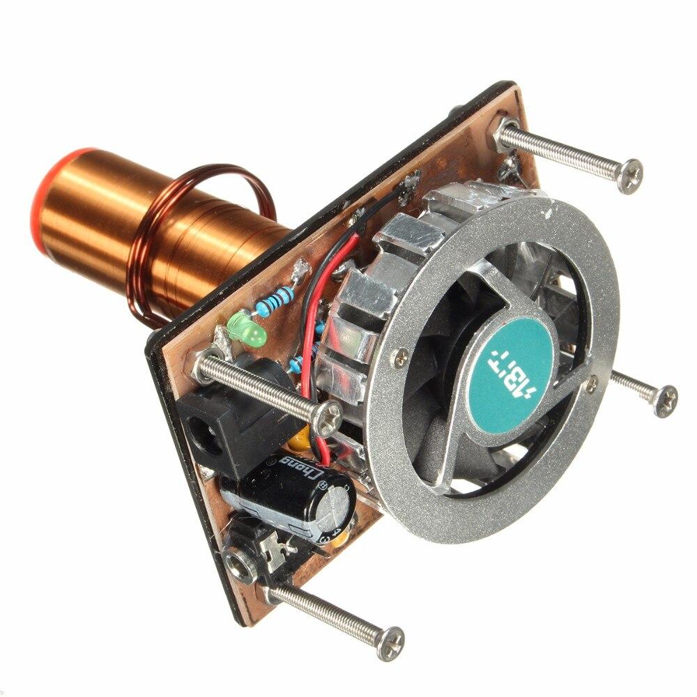 Tesla Coil Music Audio Cord Plasma Horn Wireless Transmission Distance Lighting