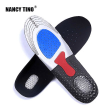 NANCY TINO Unisex Solid Sport Shoes Pad Brand Thickening Shock Absorption Basketball Football Sports Silicone Gel Soft Insoles