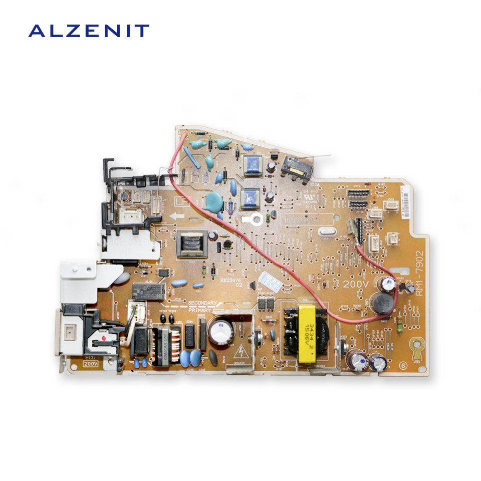 For HP M 1213 1212 1216 1136 1130 1132 M1212 M1216 M1136 M1132 Original Used Power Supply Board 220V Printer Parts On Sale alzenit for hp 85a ce285a drum alzenit for hp 1217 m1132 1214 p1102w m1212 oem new imaging drum unit printer parts on sale