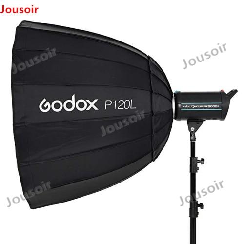 Godox Portátil P120L 120 cm de Profundidade Parabólico Refletor Softbox Bowens Monte Estúdio Flash Speedlite Photo Studio Softbox CD50
