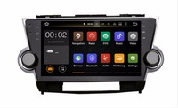 10.24G LTE Android 9.0 4G/android 9.0 2 DIN CAR DVD PLAYER Multimedia GPS PC RADIO For HIGHLANDER 2008 2009 2011 2012 2013 3G