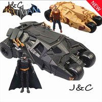 New Hot Sale Anime Figure Gift Batman Toys Phantom Chariot BATMAN Bane Toy Tanks 15CM Free