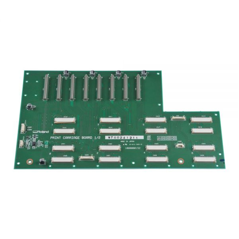 Original Roland Print Carriage Board W700241211 For FP-740 Printer roland sj 540 sj 740 fj 540 fj 740 6 dx4 heads board