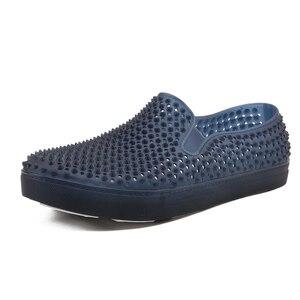 Image 3 - رجالي قباقيب الصنادل منصة النعال الذكور أحذية Sandalias الصيف أحذية الشاطئ صندل صندل hombre Sandali جديد 2020