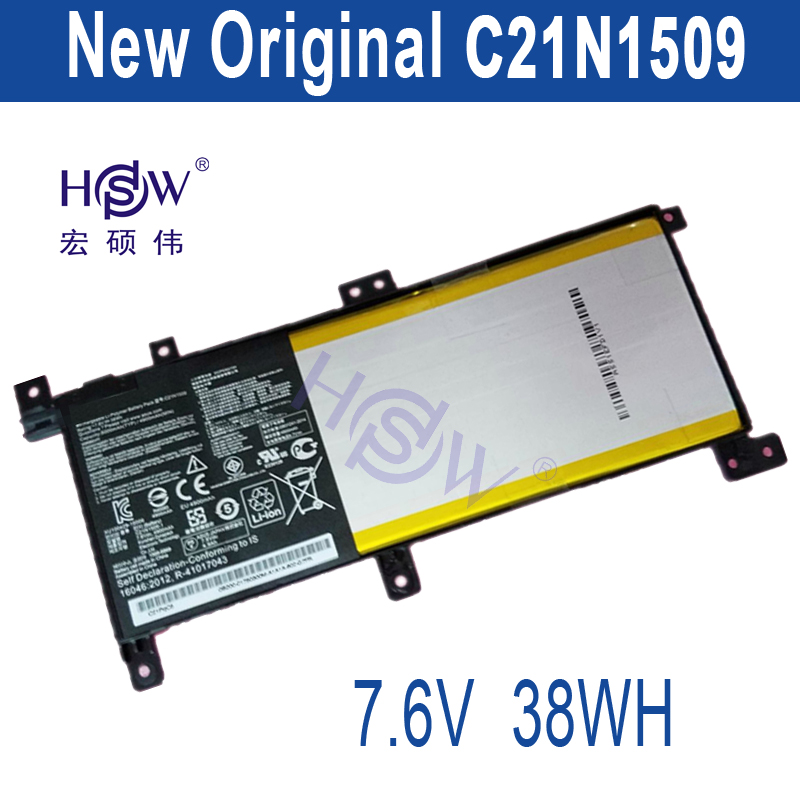 HSW C21N1509 Battery for ASUS Notebook X556UA X556UB X556UF X556UJ X556UQ X556UR X556UV x556u usb board for asus x556u x556uj x556ujq x556ub x556ua x555uv laptop dedicated rev 2 0 usb io board tested well