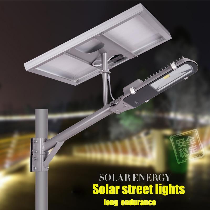 Led verlichting, solar geïntegreerde straatverlichting, stedelijke ...