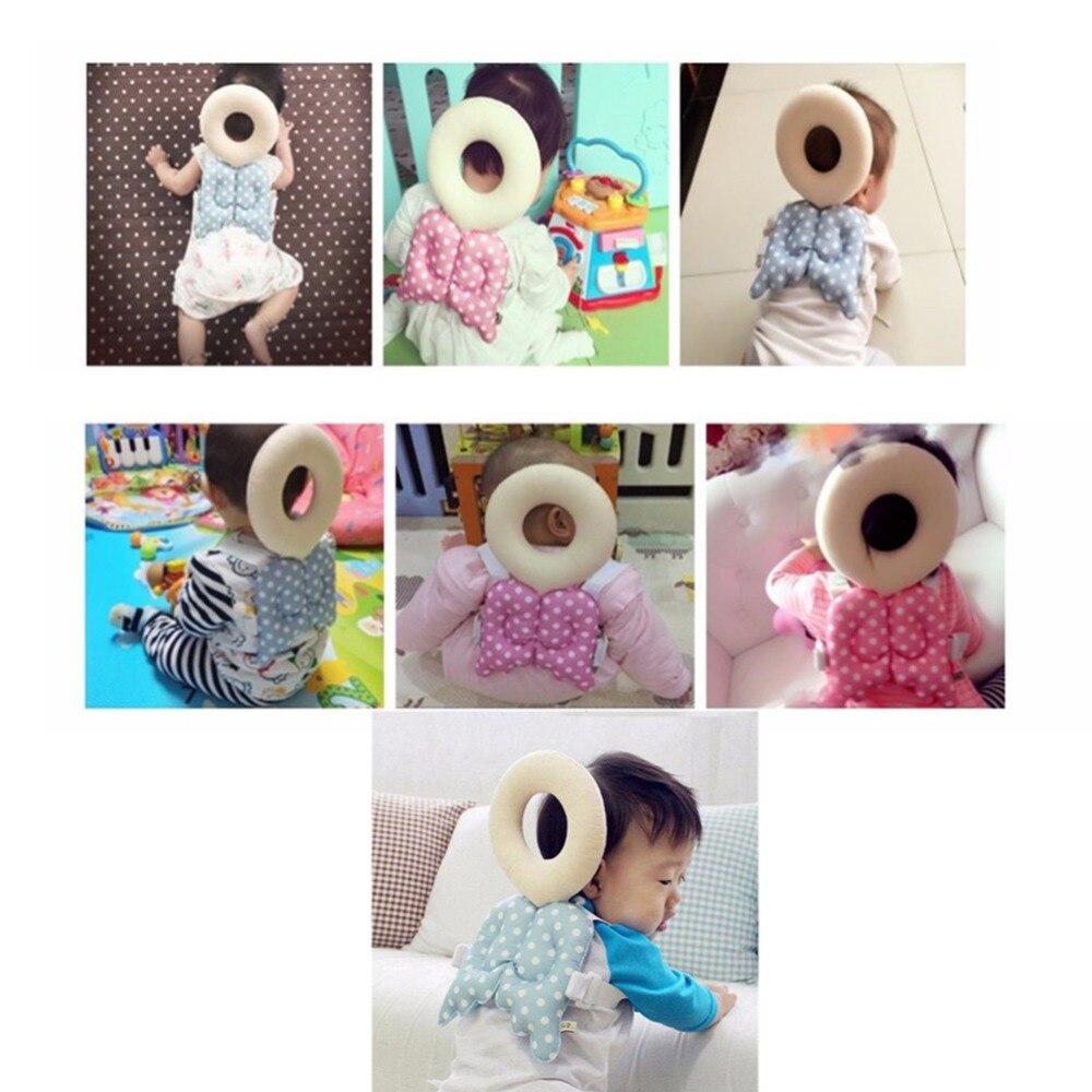 100% QualitäT Baby Kopf Schutz Pad Kleinkind Kopfstütze Kissen Baby Neck Nette Flügel Pflege Drop Widerstand Kissen Baby Schützen AusgewäHltes Material