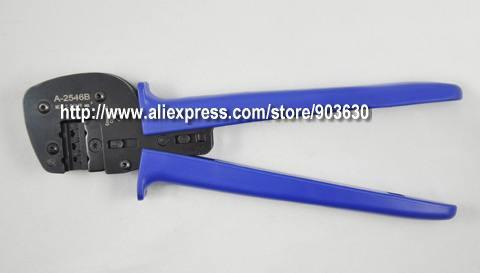 A-2546B MC4 connecteur solaire outils de sertissage sur 2.5-6.0mm2