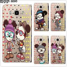 Minnie mickey Telefoon Cover Voor Coque Samsung Galaxy S6 S7 Rand S8 S9 Plus J3 J4 J6 J5 J7 A5 2017 A6 A8 Plus 2018 Note 8 9 Case(China)