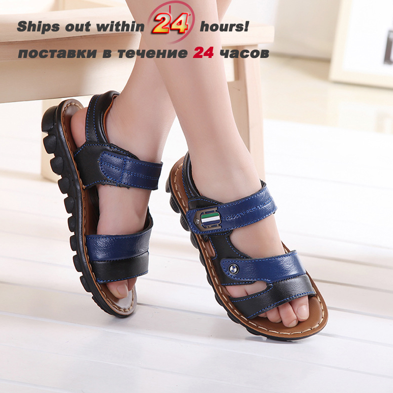 Children Summer sandals children shoes 2016 boys sandal general leather baby shoes sandals general managers